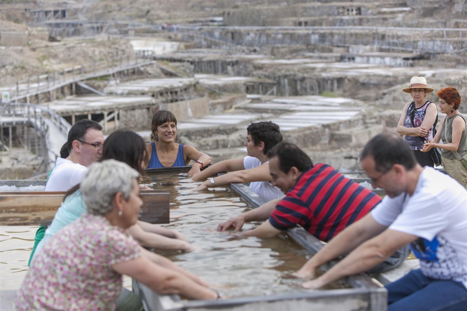 Spa salino for Pediluvio piscina